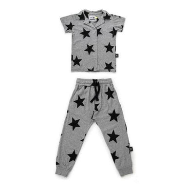 Nununu Star Snap Loungewear on DLK | designlifekids.com