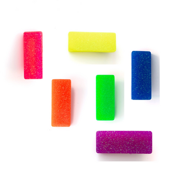 Neon Glitter Hair Clips on  Design Life Kids