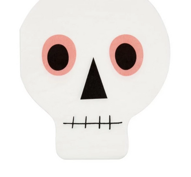Meri Meri Neon Skull Party Napkins on Design Life Kids