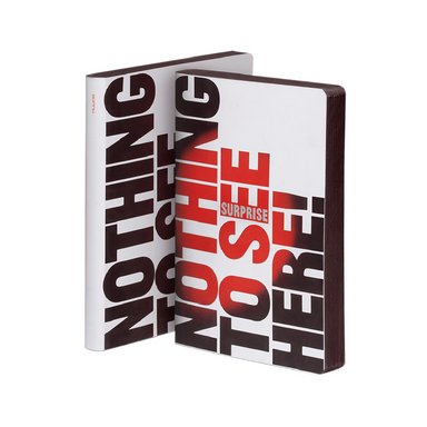 Nothing to See Here Notebook on Design Life Kids