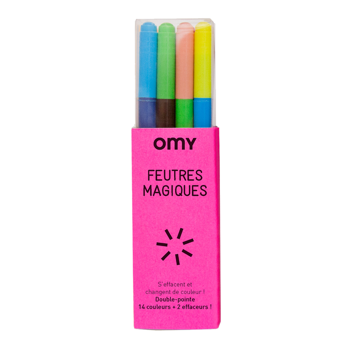 OMY Magical Erasable Markers on DLK