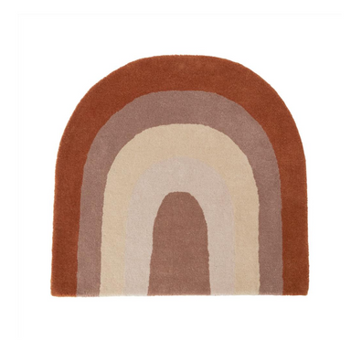 OYOY Choko Rainbow Rug on Design Life Kids