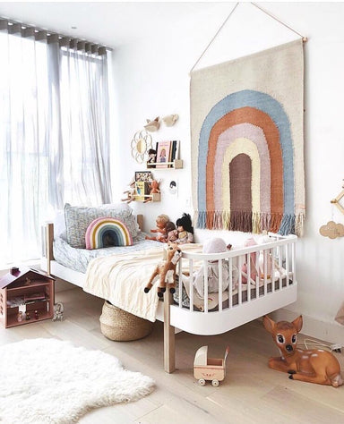 OYOY Follow the Rainbow Wall Rug on Design Life Kids