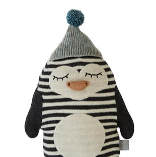 OYOY Penguin Cushion on Design Life Kids