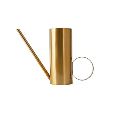 OYOY Mizu Modern Brass Watering Can on Design Life Kids