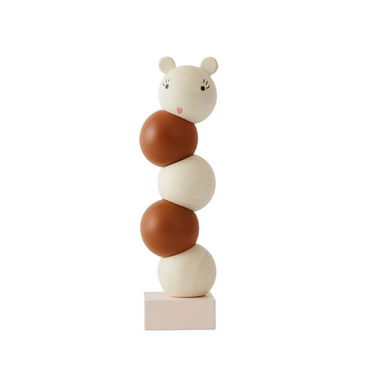 OYOY Wooden Stacking Lala Toy on Design Life Kids