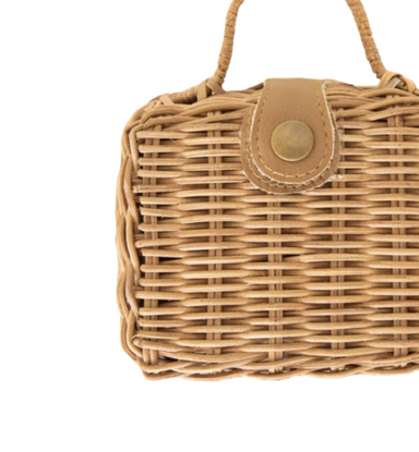 Olli Ella Doll Toaty Rattan Trunk Suitcase on Design Life Kids