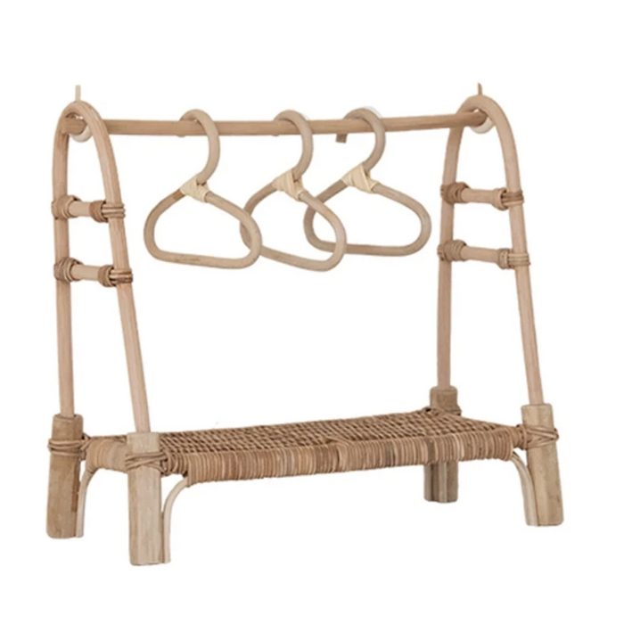 Olli Ella Dinkum Doll Clothing Rail Rack on Design Life Kids