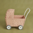 Olli Ella Rose Pink Strolley Doll Stroller on Design Life Kids