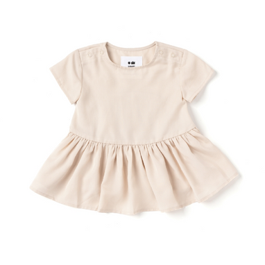 Omamimini Baby Hi Low Drop Waist Dress on Design Life Kids