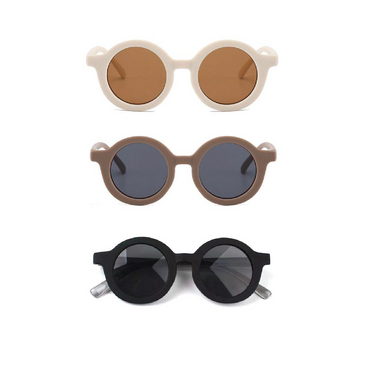 Omamimini Round Sunglasses on Design Life Kids
