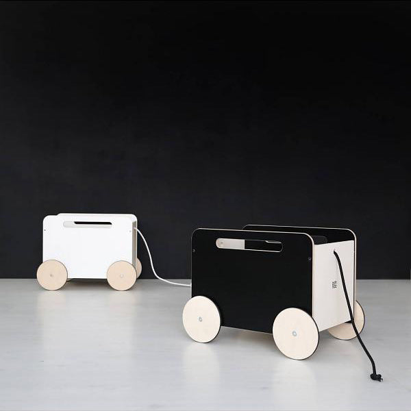 Ooh Noo Official Rolling Toy Chest on Wheels on DLK