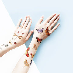 Paperself Temporary Butterfly Tattoos on DLK