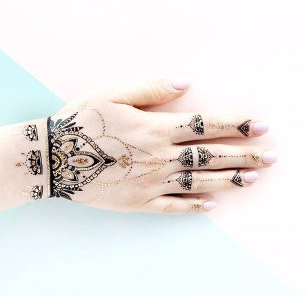 Paperself Temporary Henna Tattoos on DLK