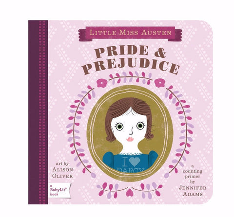 BabyLit Pride & Prejudice Board Book on DLK
