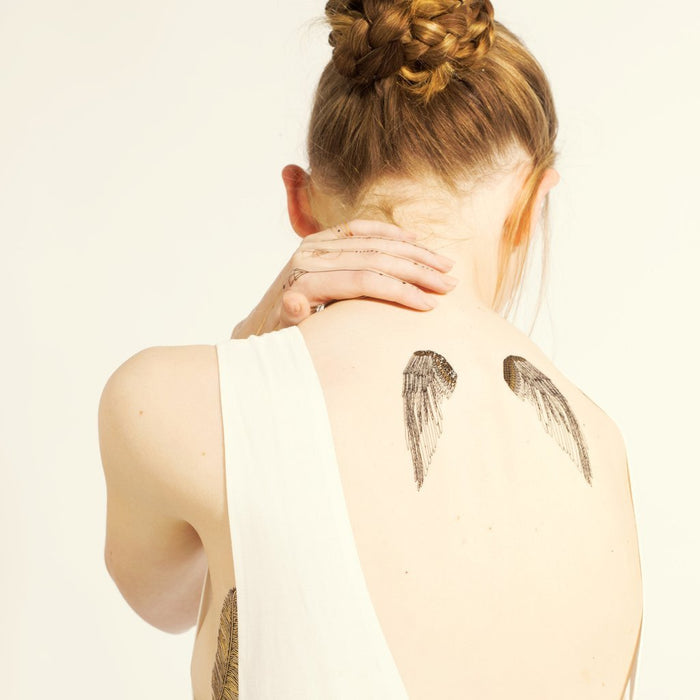 Paperself Wing Tattoo on Design Life Kids