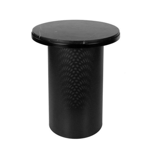 Esaila Marble Pedestal Side Table on DLK | designlifekids.com