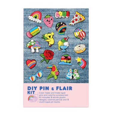Pin and Flair DIY Kit on Design Life Kids