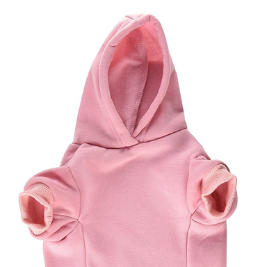 Pink Dog Hoodie on Design Life Kids