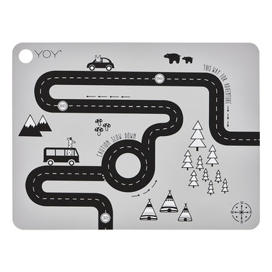 Oyoy Adventure Placemat on DLK | designlifekids.com