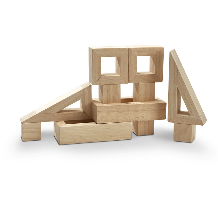 Plan  Toys Hollow Blocks on Design Life Kids