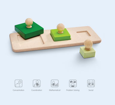 Plan Toys Square Matching Puzzle on Design Life Kids