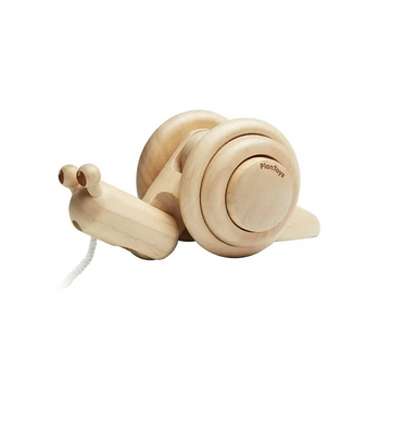 Plan Toys Pull Along Snail on Design Life Kids