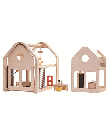 Plan Toys Slide n Go Dollhouse on Design Life Kids