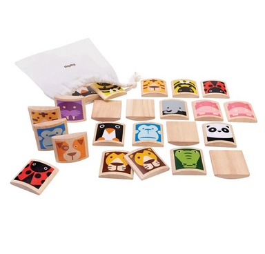 Plan Toys Wooden Animal Memory Game on Design Life Kids