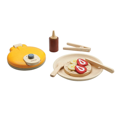 Plan Toys Wooden Waffle Set on Design Life Kids