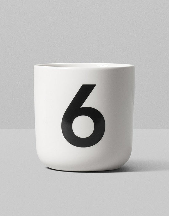 Playtype Numbers & Glyphs Mug on DLK