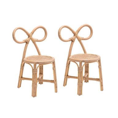 Poppie Bow Chair Set on Design Life Kids