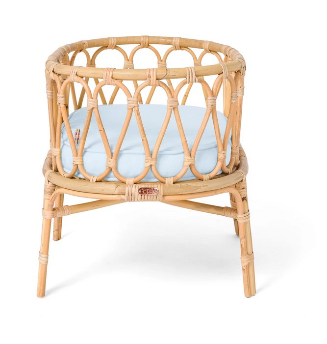 Poppie Rattan Doll Crib on Design Life Kids