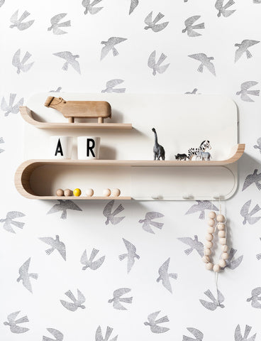 RaFa Kids M Shelf on DLK | designlifekids.com
