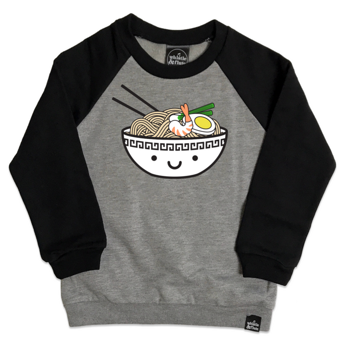 Whistle & Flute Kawaii Ramen Sweatshirt on DLK | designlifekids.com