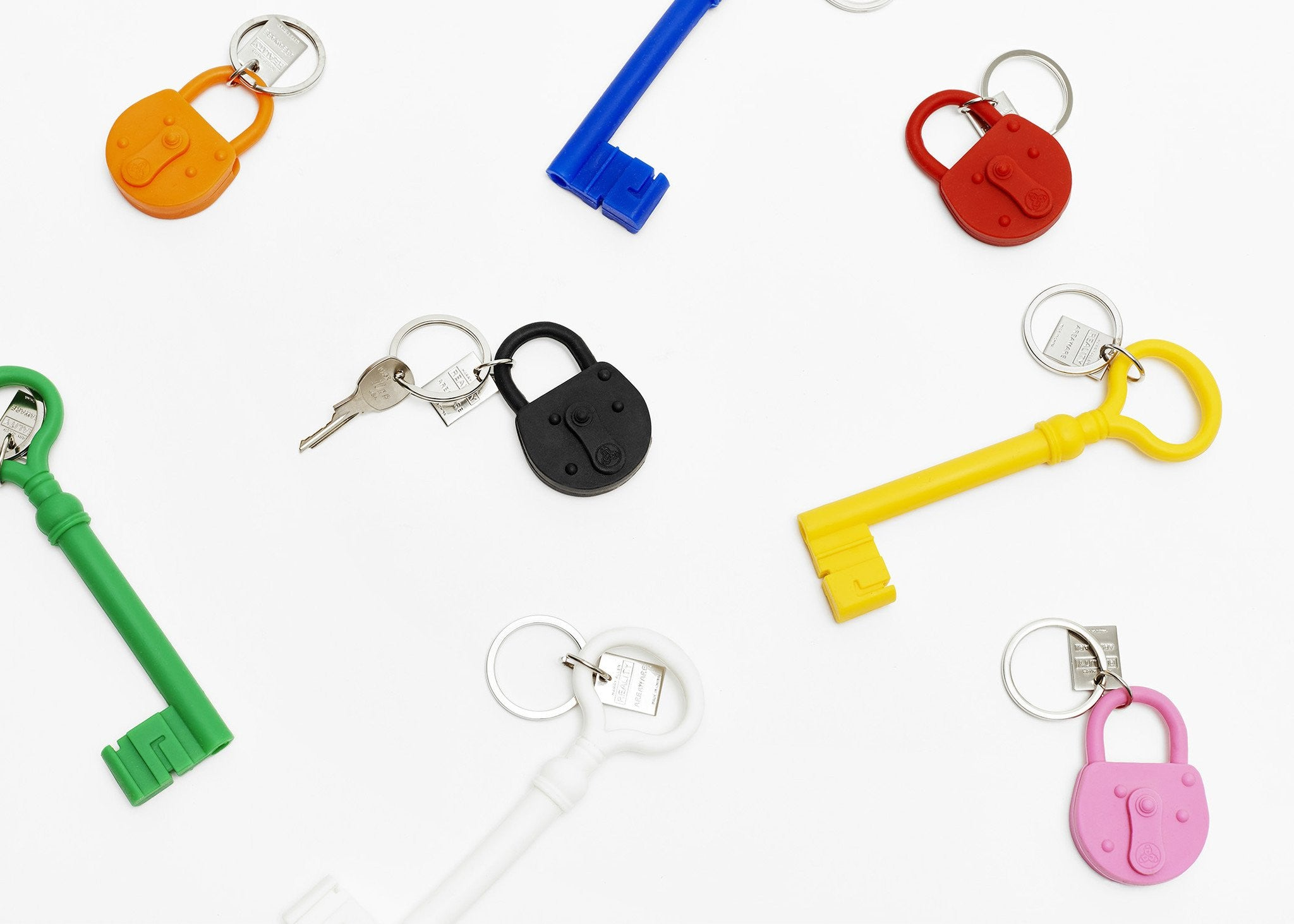 REALITY LOCK KEYCHAIN