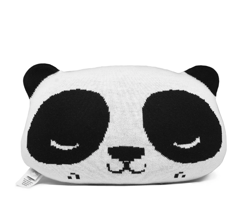 Rian Tricot Panda Cushion Pillow on Design Life Kids