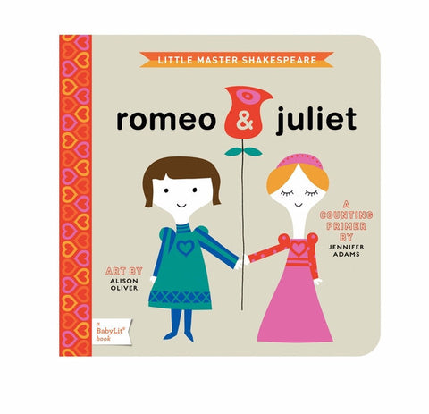 BabyLit Romeo & Juliet Board Book on DLK