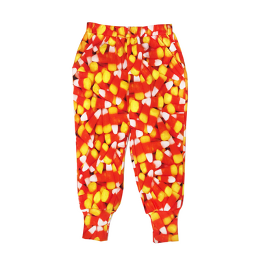 Romey Loves Lulu Candy Corn Sweatpants on Design Life Kids