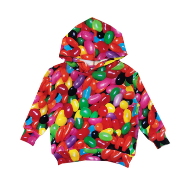 Romey Loves Lulu Jelly Beans Hoodie on Design Life Kids