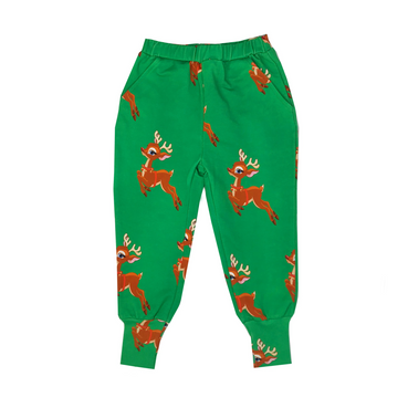 Romey Loves Lulu Reindeer Sweatpants on Design Life Kids
