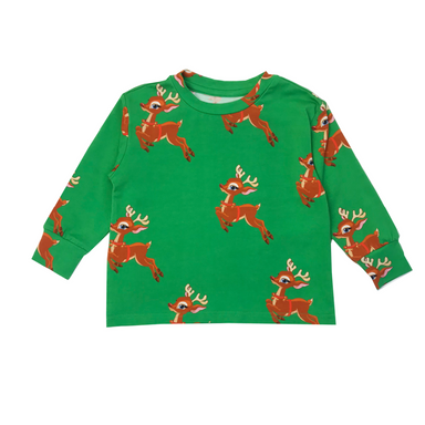 Romey Loves Lulu Reindeer Shirt  on  Design Life Kids