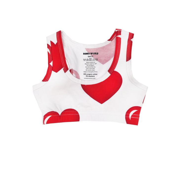 Hearts Sports Top