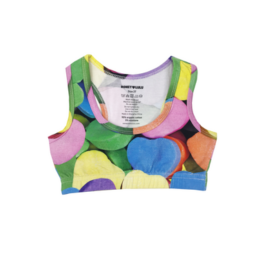 Candy Hearts Sports Top