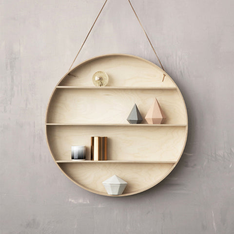 Ferm Living ROUND DORM SHELF ON DLK