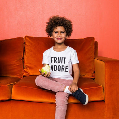 Gardner and the Gang Cool Tee Fruit I Adore on DLK | designlifekids.com