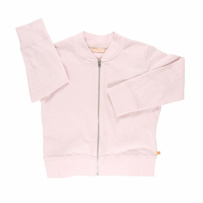 Tiny Cottons Holes Bomber Jacket on DLK.