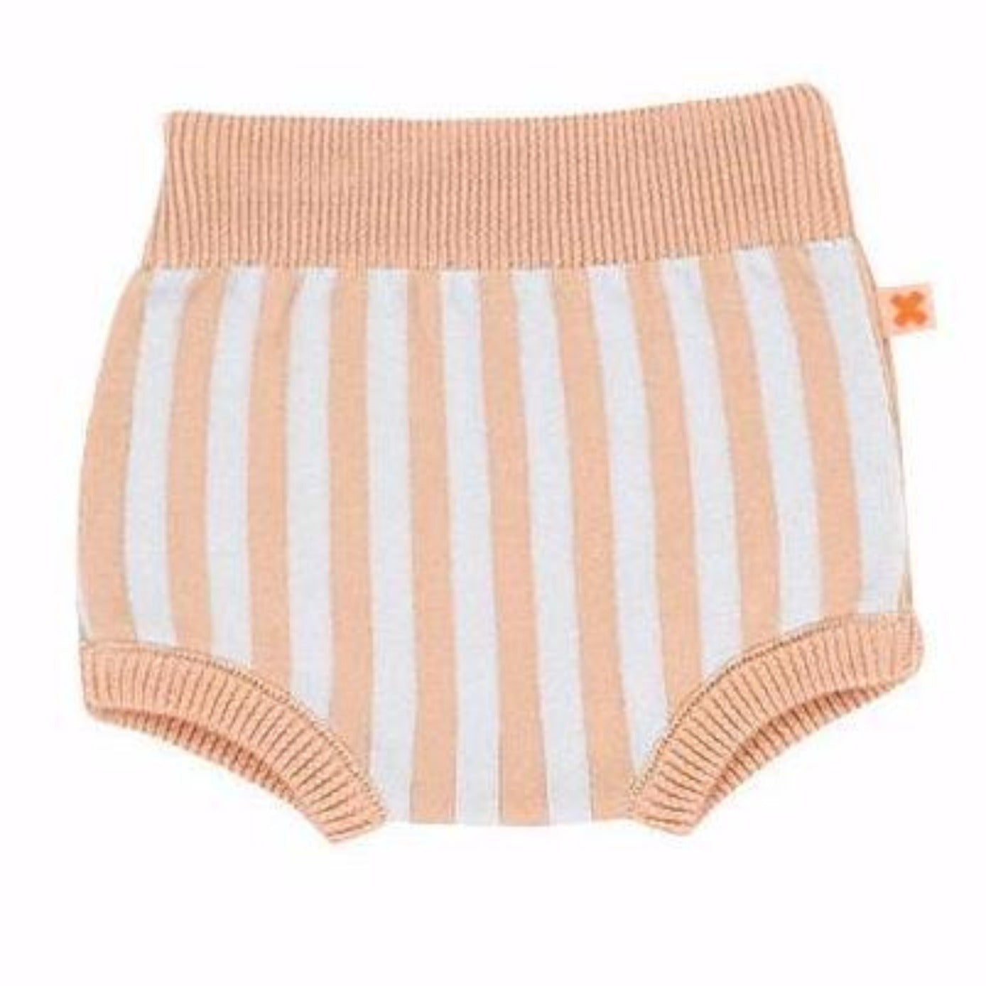 Striped Knit Bloomer Shorts