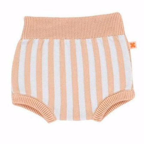 STRIPED KNIT BLOOMER