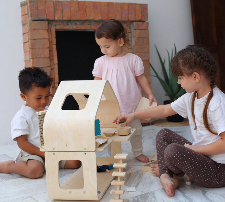 Plan Toys Contemporary Dollhouse on Design Life Kids